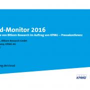Bitkom Cloud Monitor 2016